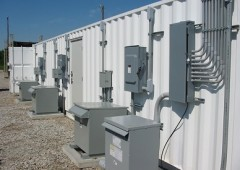 exterior electrical power distribution