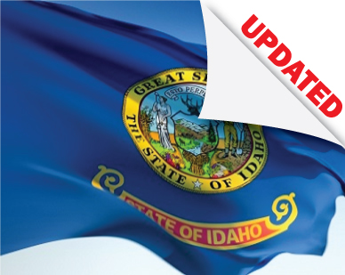 idaho flag updated laws and rules for professional