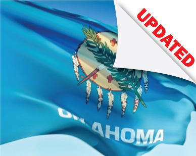 oklahoma flag updated laws and rules for professional